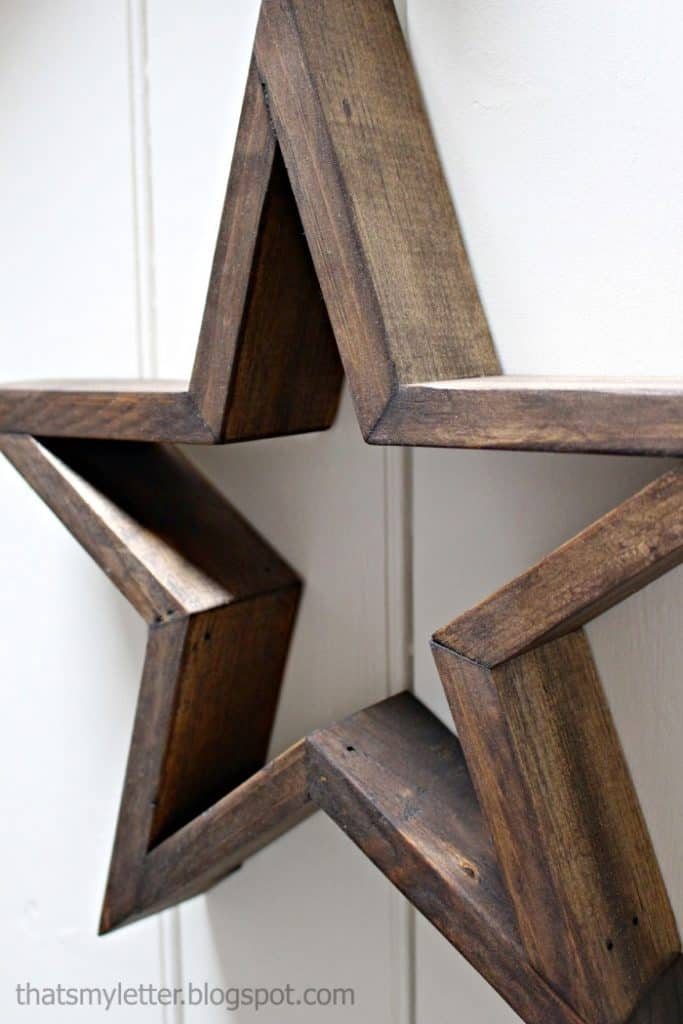 DIY Wooden Star