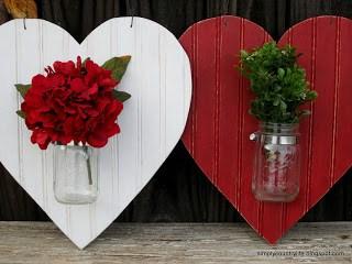 Heart Vase Wreath