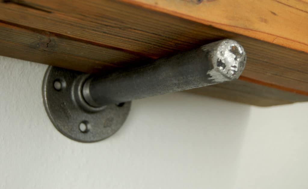 Pipe Shelf Bracket