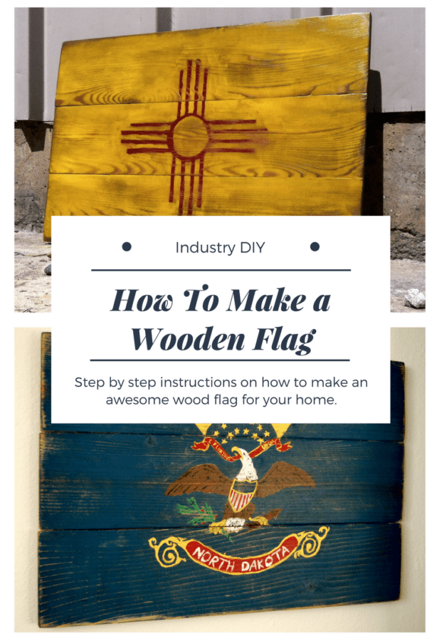 Step by Step How to Instructions on how to make a wooden state, country or any other type of flag.  Tools and materials required are included in the plans.