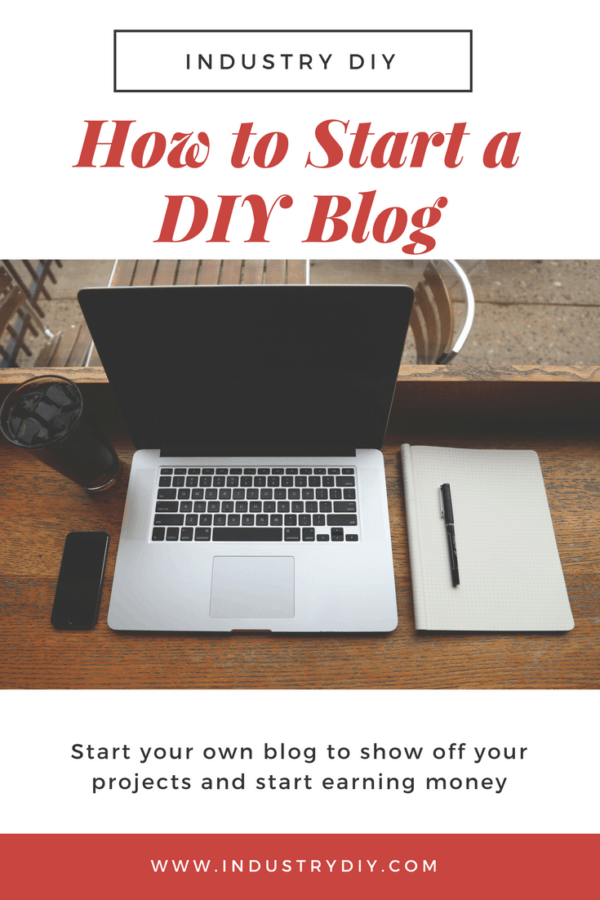 Build a website, get traffic, and start showing off your awesome DIY projects.  Making a blog has never been easier so the time to start is now.