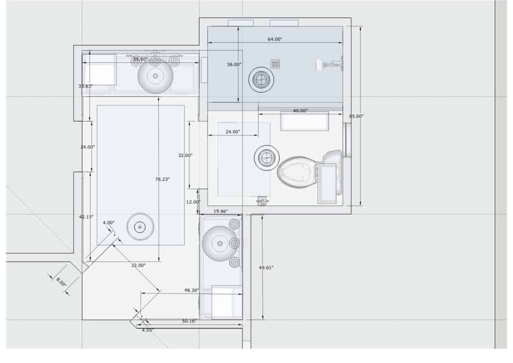 Bathroom Construction Plan