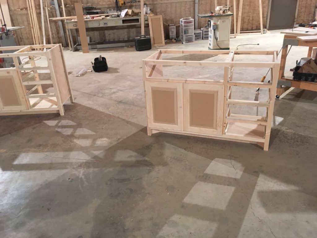 Vanity Construction