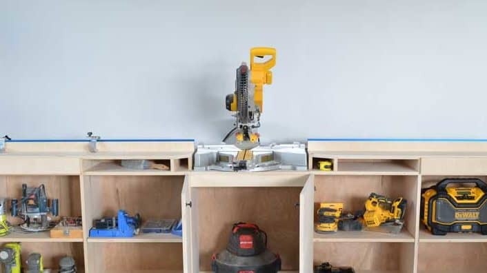 Her Toolbelt Miter Saw Station