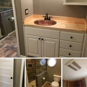 Bathroom Remodel Feature