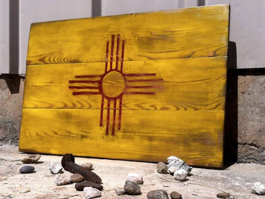 New Mexico Flag for Etsy