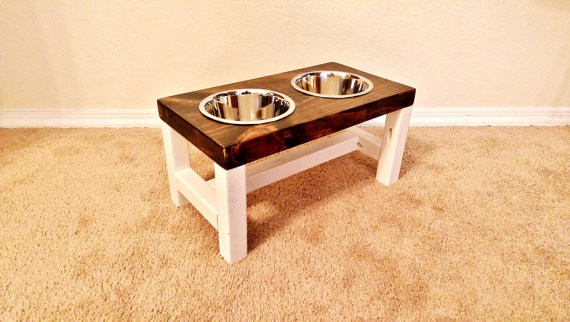 Pet Bowl Stand on Etsy