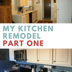 Kitchen Remodel Part One