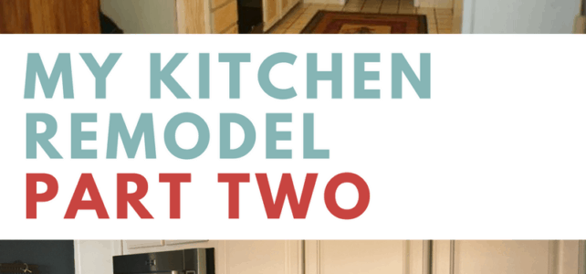 My Kitchen Remodel – Part 2: Cabinet Install and Finish