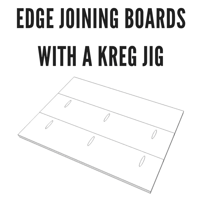Edge Joining Boards With A Kreg Jig - Industry DIY
