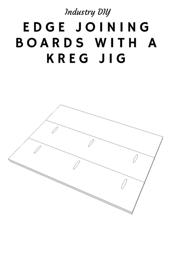Edge Joining Boards With A Kreg Jig
