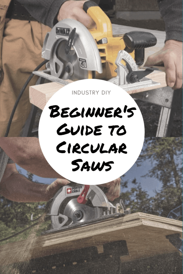 Find the best circular saw for starting your woodworking journey.  We review the top beginner tools that you can use yourself or give as a gift. #DIY #circularsaw
