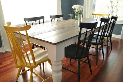 Large Farmhouse Table 8