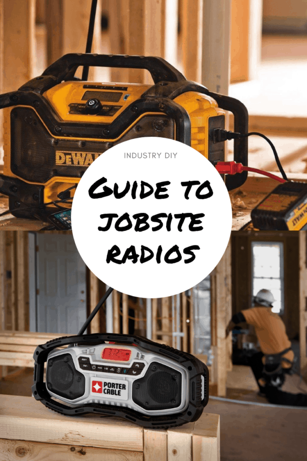 Best Bluetooth Jobsite Radio - Comparison Guide 2020
