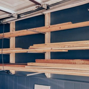 Lumber Storage Rack