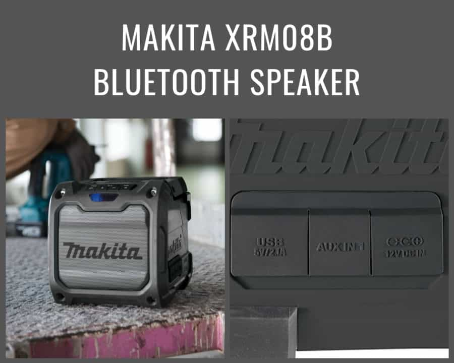 Makita XRM08B Bluetooth Speaker