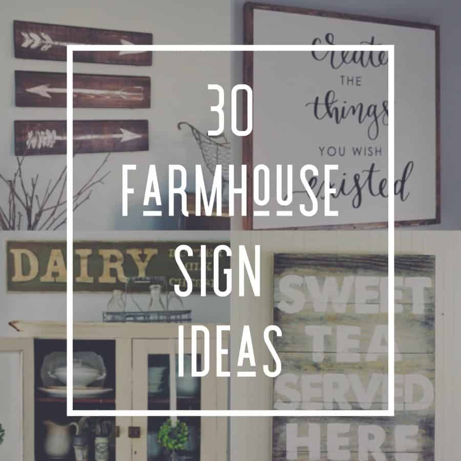 30 Diy Farmhouse Signs You Can Easily Build Industry Diy