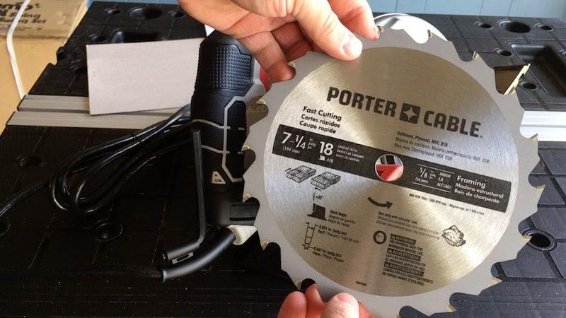 PCE300 saw blade