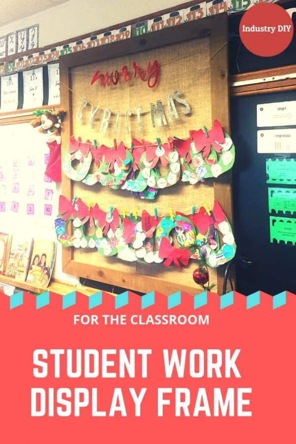 How-To Craft: Displaying Student Work In the Classroom