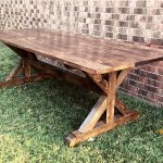 Farmhouse Trestle Table Plans