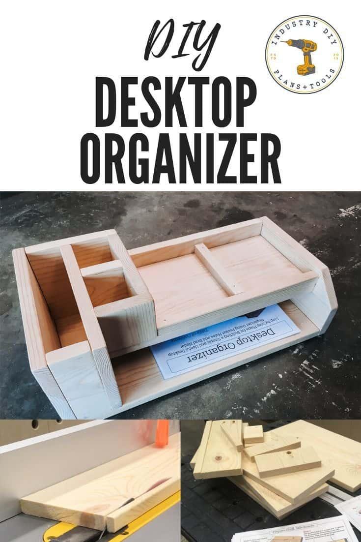 Easy DIY Desk Organizer