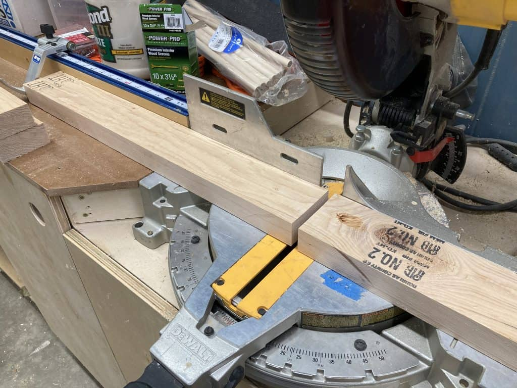 Miter Saw Cut to Length