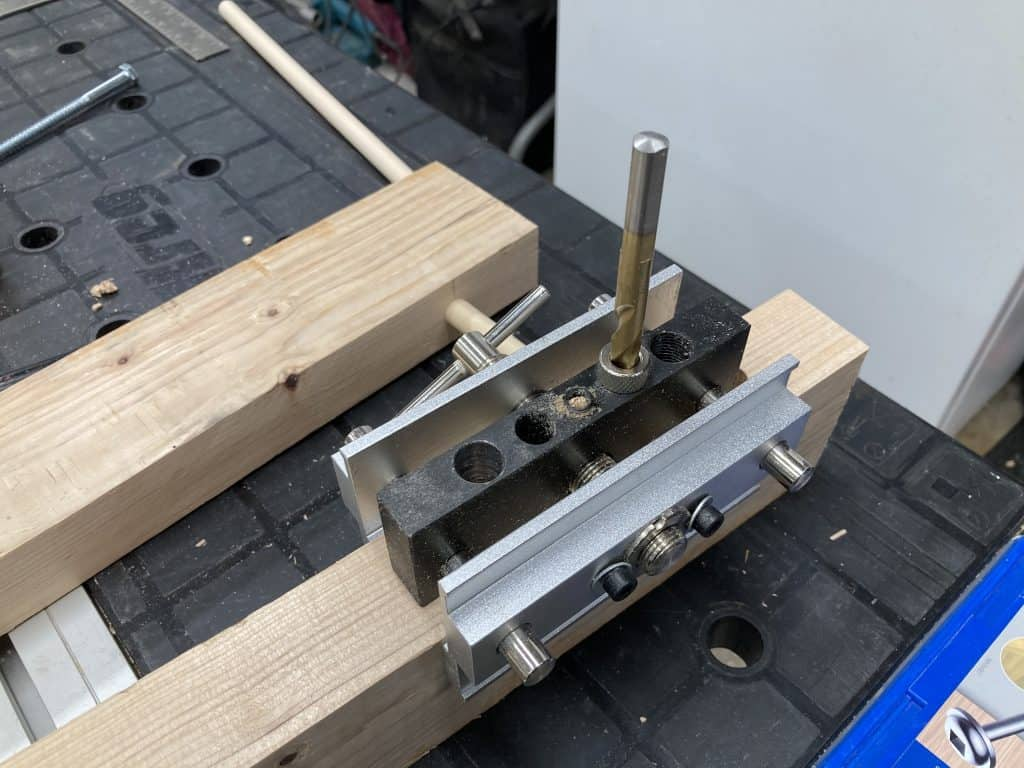 Using 5/16 for dowel jig
