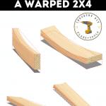Straighten Warped 2x4