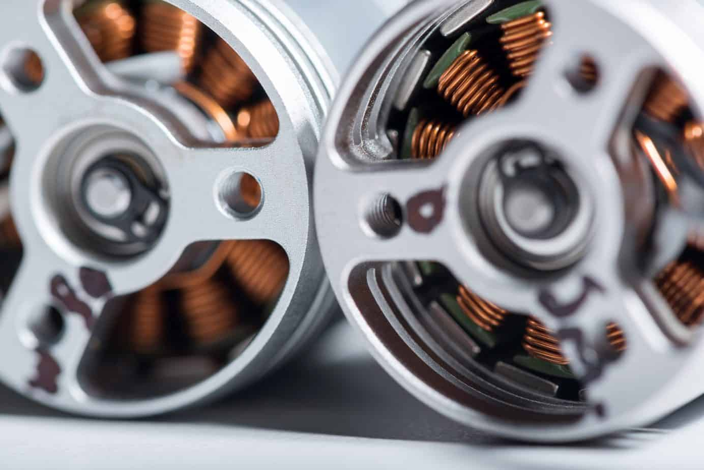 What is a brushless motor?
